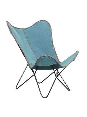 Pole to Pole Vlinderstoel, Aqua blue