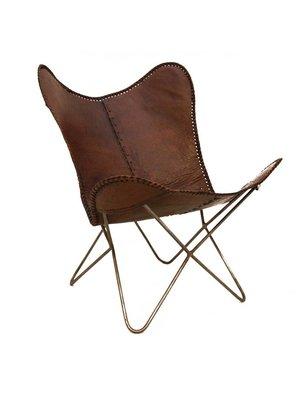 Pole to Pole Vlinderstoel, bruin