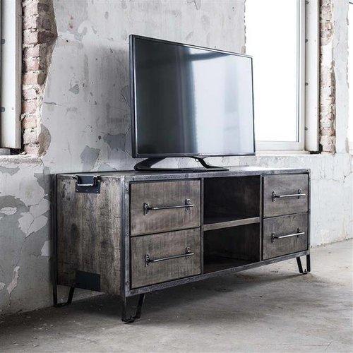 Alaska TV-meubel Rift 4 lades/ 2 open vakken