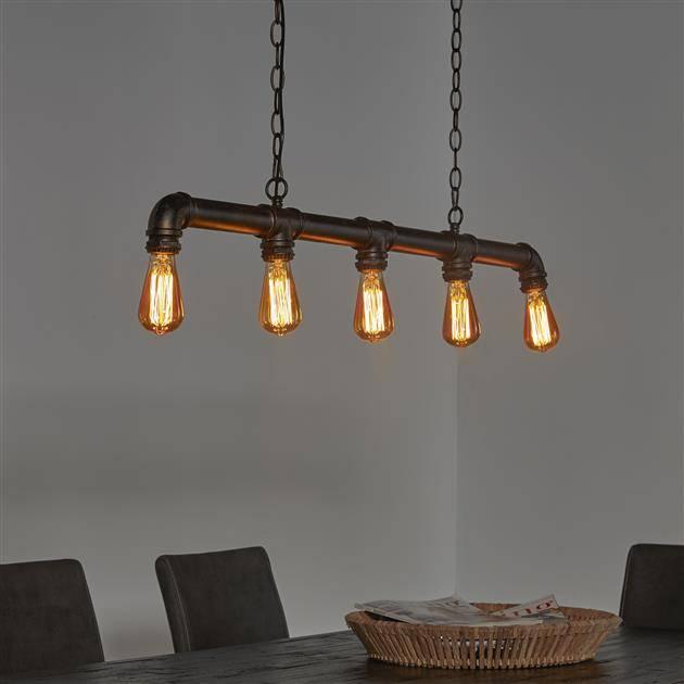 Alaska Hanglamp 5L industrial tube
