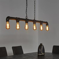 Hanglamp 6L industrial tube