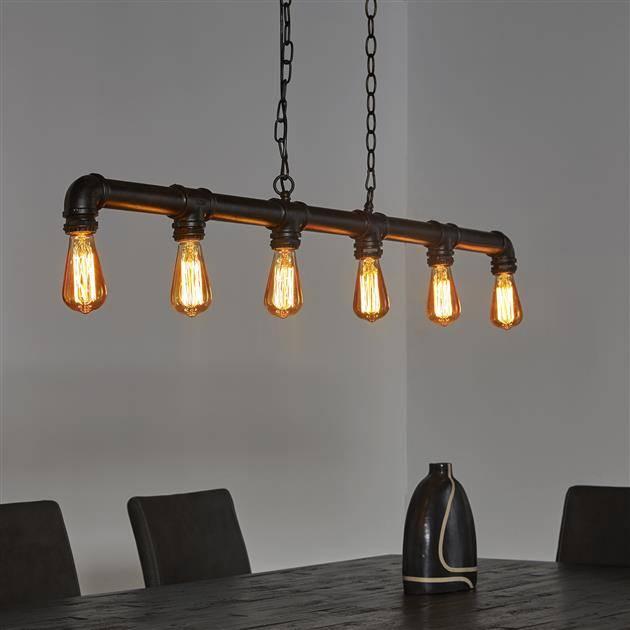 Alaska Hanglamp 6L industrial tube