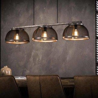 Alaska Hanglamp 3xØ35 mesh koepel