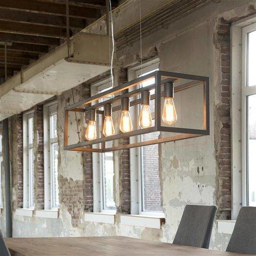 Alaska Hanglamp Metalen Kooi 125cm