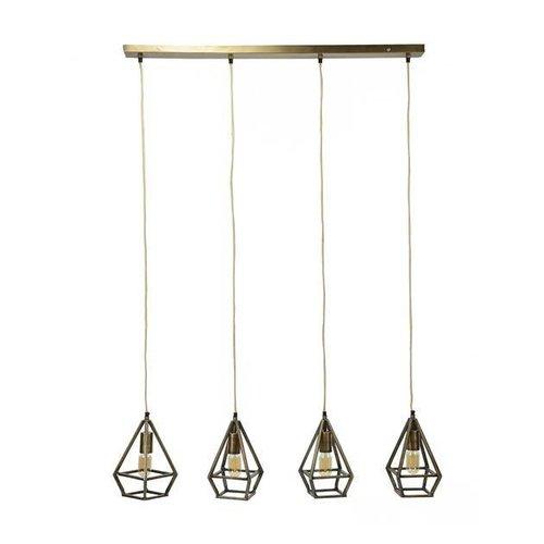 Alaska Hanglamp 4x druppel