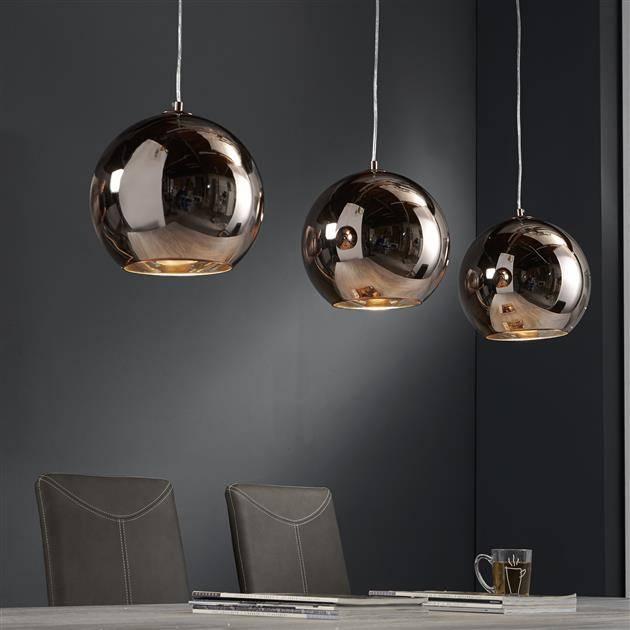 Alaska Hanglamp 3L globe
