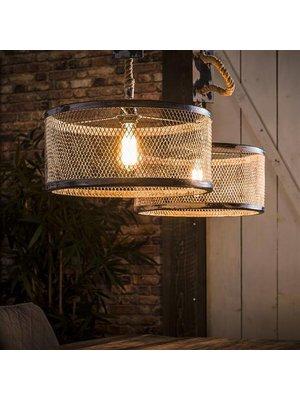 Alaska Hanglamp Mesh Verstelbaar Touw, 2-Lampen Ø40