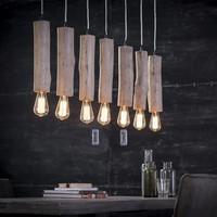 Hanglamp 7x eucalyptus