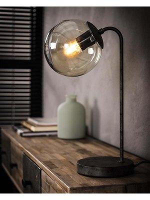 Alaska Tafellamp Ronde Bol, 1-Lamp