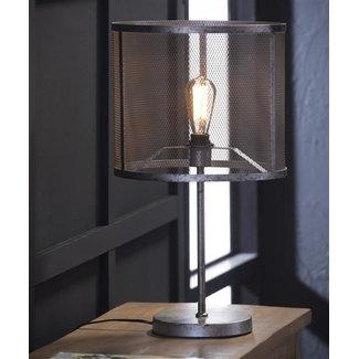 Alaska Tafellamp rond raster