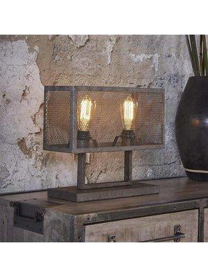 Alaska Tafellamp Rechthoek Raster, 2-Lampen