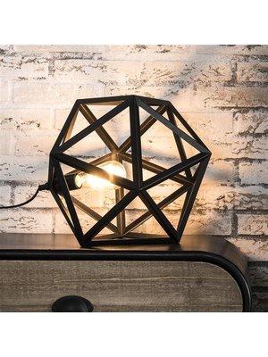 Alaska Tafellamp Zwart Triangle,