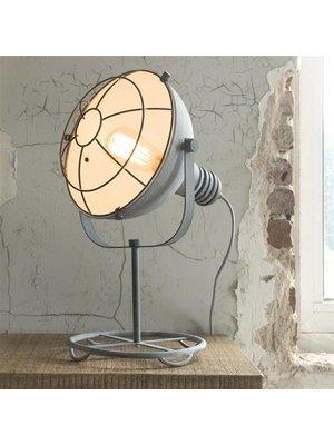 Alaska Tafellamp Betonlook met Raster