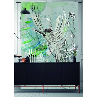 Urban Cotton Wandkleed 'Free flight' 190 x 145 cm