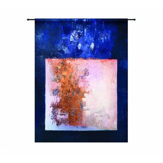Urban Cotton Wandkleed 'Abstract in E-Mineur' 190 x 145 cm