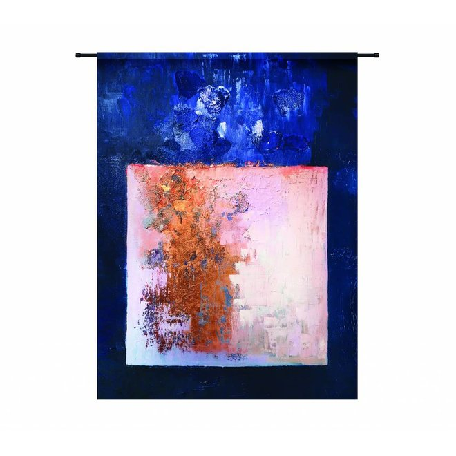 Wandkleed 'Abstract in E-Mineur' 190 x 145 cm
