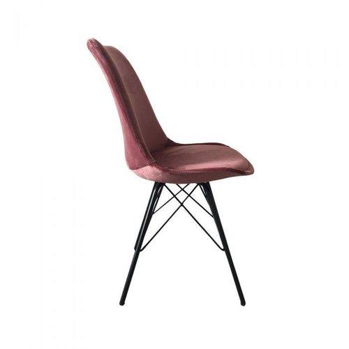 Kick Collection Kuipstoel Velvet - Roze