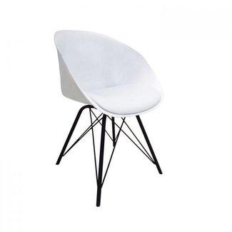 Kick Collection Designstoel Metal Jax -Wit