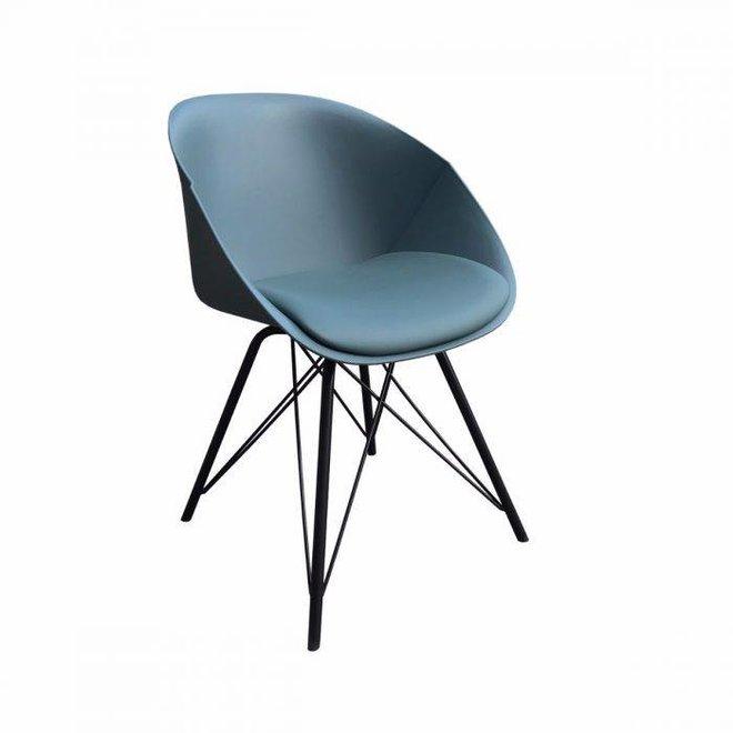 Designstoel Metal Jax -Groen