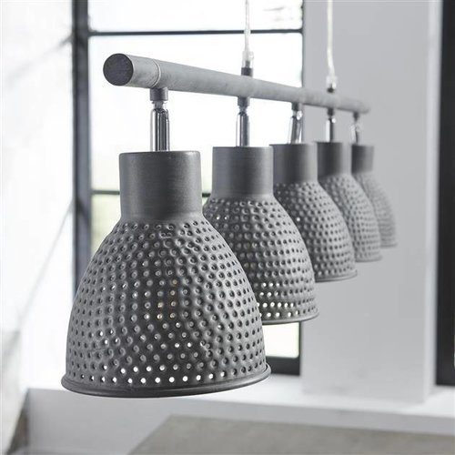 Alaska  Hanglamp 5L aged iron grijs
