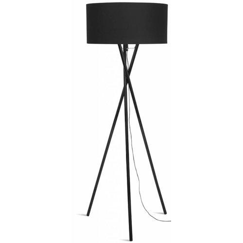 It's About RoMi Vloerlamp ijzer/zwart 3-poot Hampton, zwart