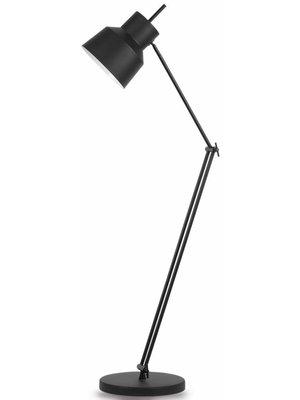 It's About RoMi Vloerlamp ijzer Belfast, mat zwart