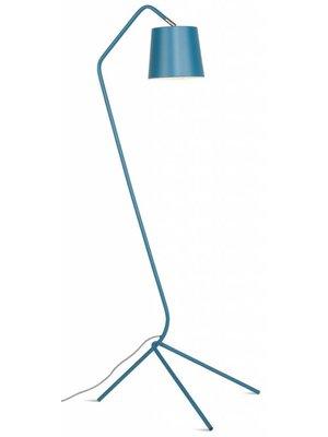 It's About RoMi Vloerlamp ijzer 3-poot Barcelona, Blauwgroen blauw