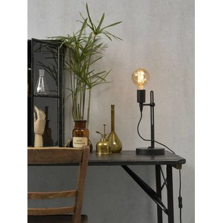 It's About RoMi Tafellamp ijzer Seattle, zwart