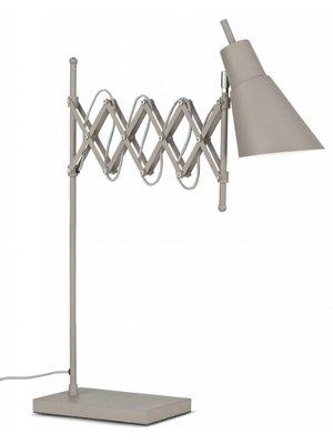It's About RoMi Tafellamp ijzer Oxford, Rookgrijs
