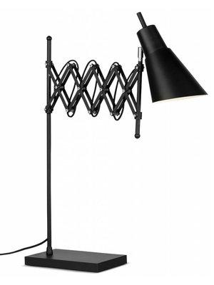 It's About RoMi Tafellamp ijzer Oxford, zwart