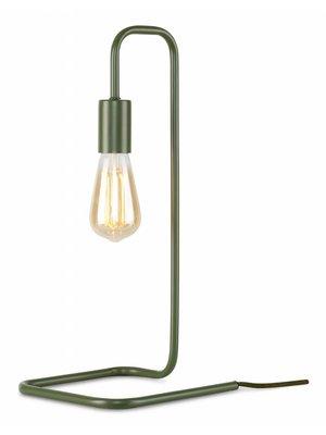 It's About RoMi Tafellamp ijzer London, olijfgroen
