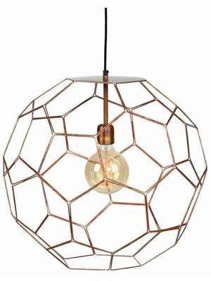 It's About RoMi Hanglamp draadijzer Marrakesh koper, L