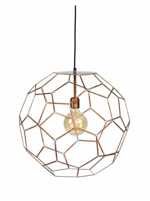 It's About RoMi Hanglamp draadijzer Marrakesh koper, S
