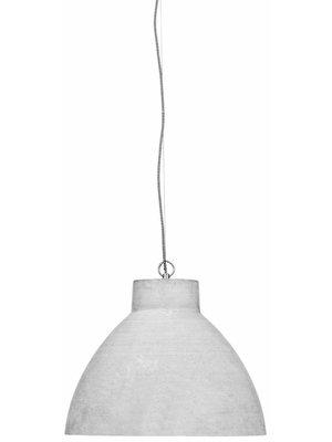 It's About RoMi Hanglamp polystone Cordoba/kap rond, lichtgrijs
