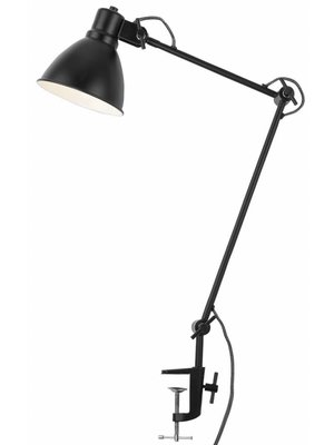 It's About RoMi Tafel klemlamp ijzer Derby, zwart