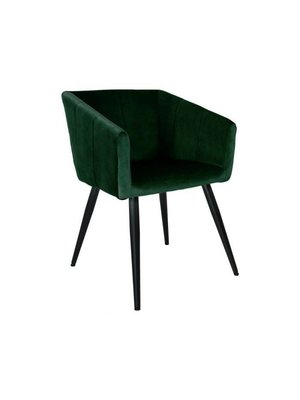 Kick Collection Eetkamerstoel Velvet Liv - Groen