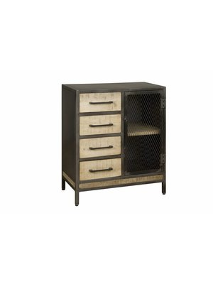 RENEW Dressoir 'Jeanine' 4-laden 76cm