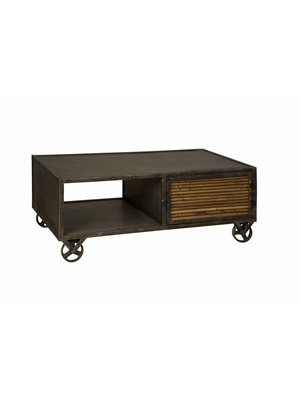 RENEW Industrieel TV-meubel 'Wheel' 125cm