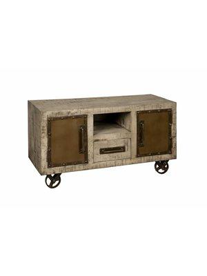 RENEW TV-meubel 'Davy' 120cm 2-deurs