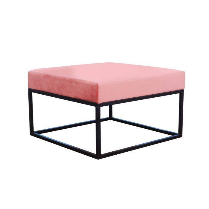 Kick Collection KICK METAL CUBE- ROZE 70X70