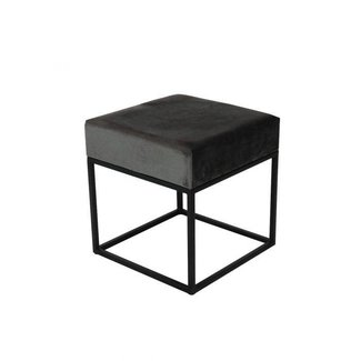 Kick Collection KICK METAL CUBE - DONKER GRIJS 40X40
