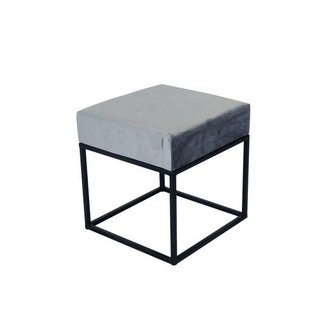 Kick Collection KICK METAL CUBE - GRIJS 40X40