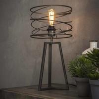 Tafellamp Curl Zwart