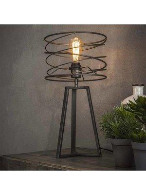 Alaska Tafellamp Curl Zwart