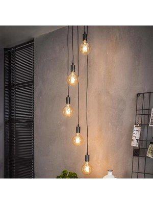 Alaska Hanglamp 5x getrapt / Charcoal
