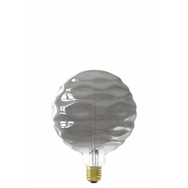 Calex Bilbao LED Lamp 240V 4W 60lm E27, Titanium 2100K dimmable, energy label B