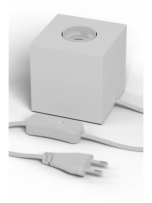 Calex Tafellamp Vierkant Blok Wit