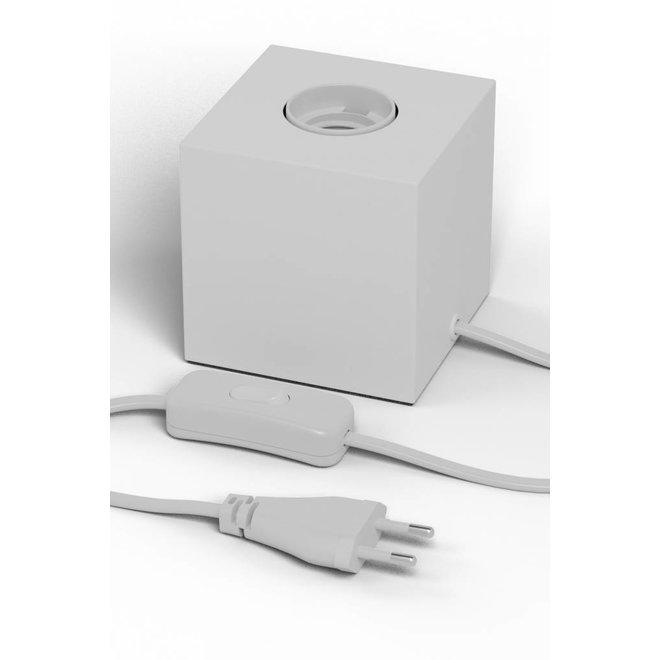 Tafellamp Vierkant Blok Wit