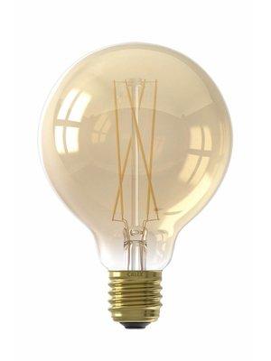 Calex E27 LED Lichtbron 'Ronde Bol'  Ø9,5cm - Dimbaar