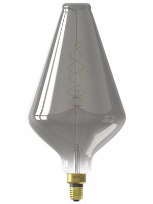 Calex Calex XXL Vienna LED Lamp 240V 6W 80lm E27 VA188, Titanium 2200K dimmable, energy label B